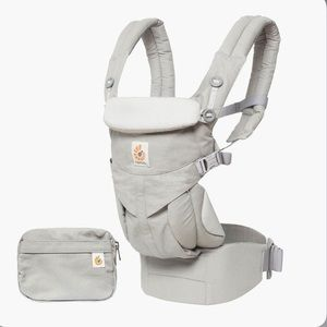 ERGO BABY 360 CARRIER IN PEARL GREY